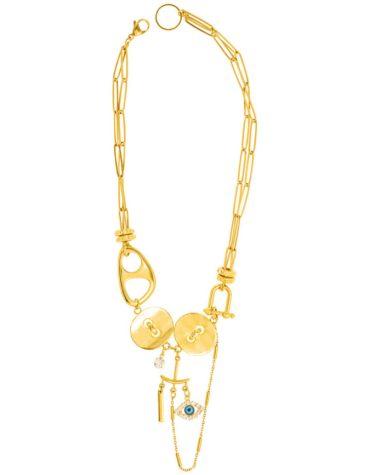 Kaleido Twin Love Necklace