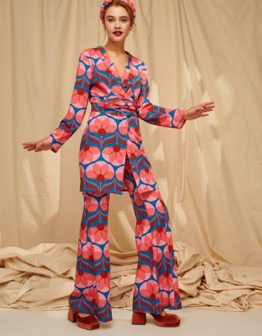 Karavan Luella Printed Long Shirt Mini Dress 1