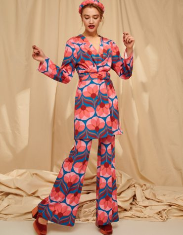 Karavan Luella Printed Long Shirt Mini Dress