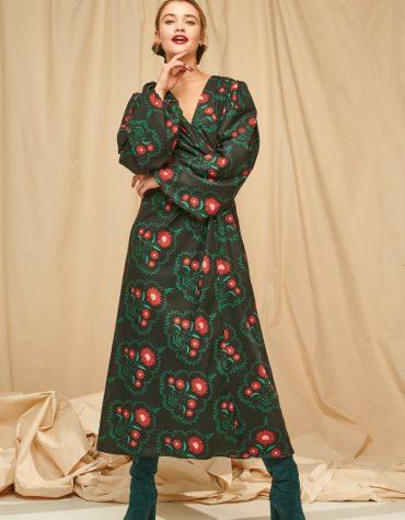 Karavan Samira Dress Front Knot