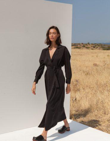 Mallory Olivia Black Dress 6