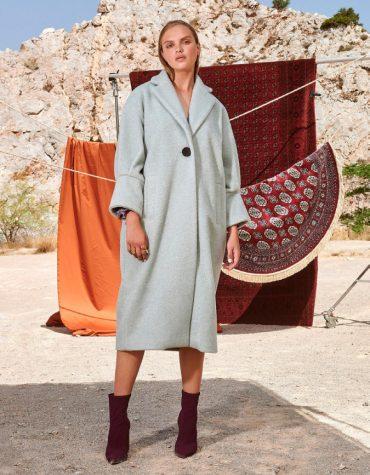 Nema Rufina Coat Celadon 1