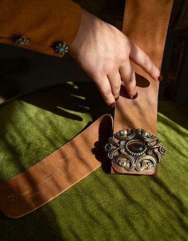 Nidodileda Journey Leather Belt 1