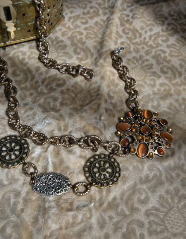 Nidodileda Metallic Chain Belt 1