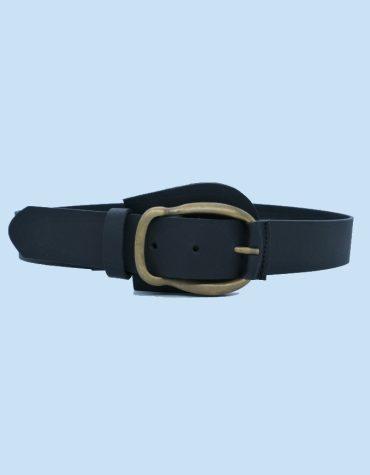 SALT PEPPER Jema Black Leather Belt